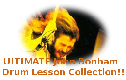 Bonham Ultimate Video Drum Lesson Collection