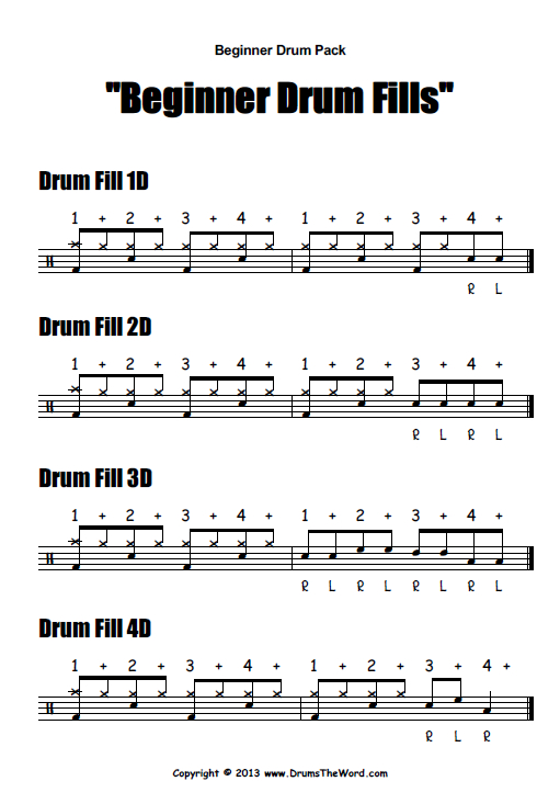 15 Fun Drum Fills - TakeLessons Blog