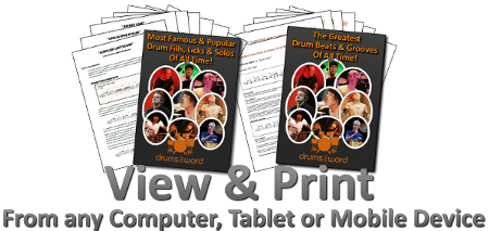 Double Drum eBook and 124 Videos Bundle Pack