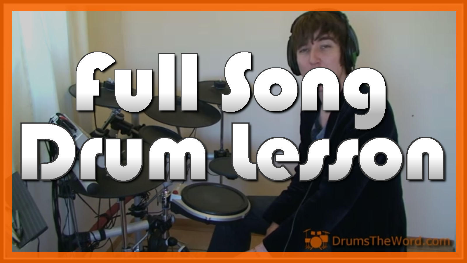 """All Right Now"" - (Free) Full-Song Video Drum Lesson Notation Chart Transcription Sheet Music Drum Lesson"