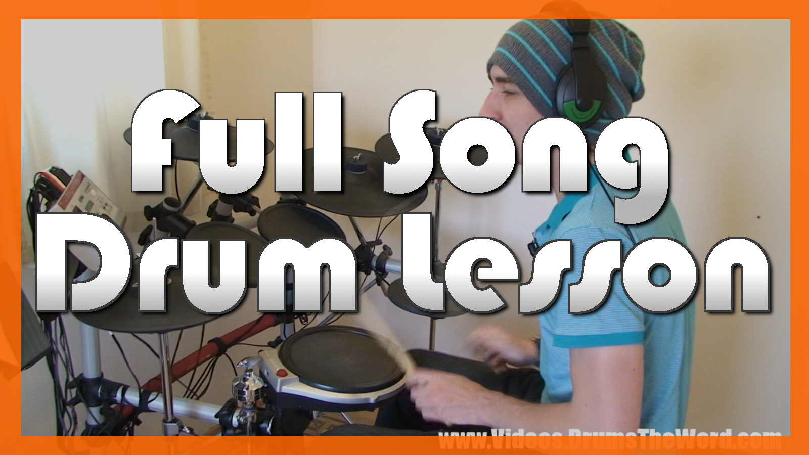 """""""Basket Case"""" - (Green Day) Full-Song Video Drum Lesson Notation Chart Transcription Sheet Music Drum Lesson"""