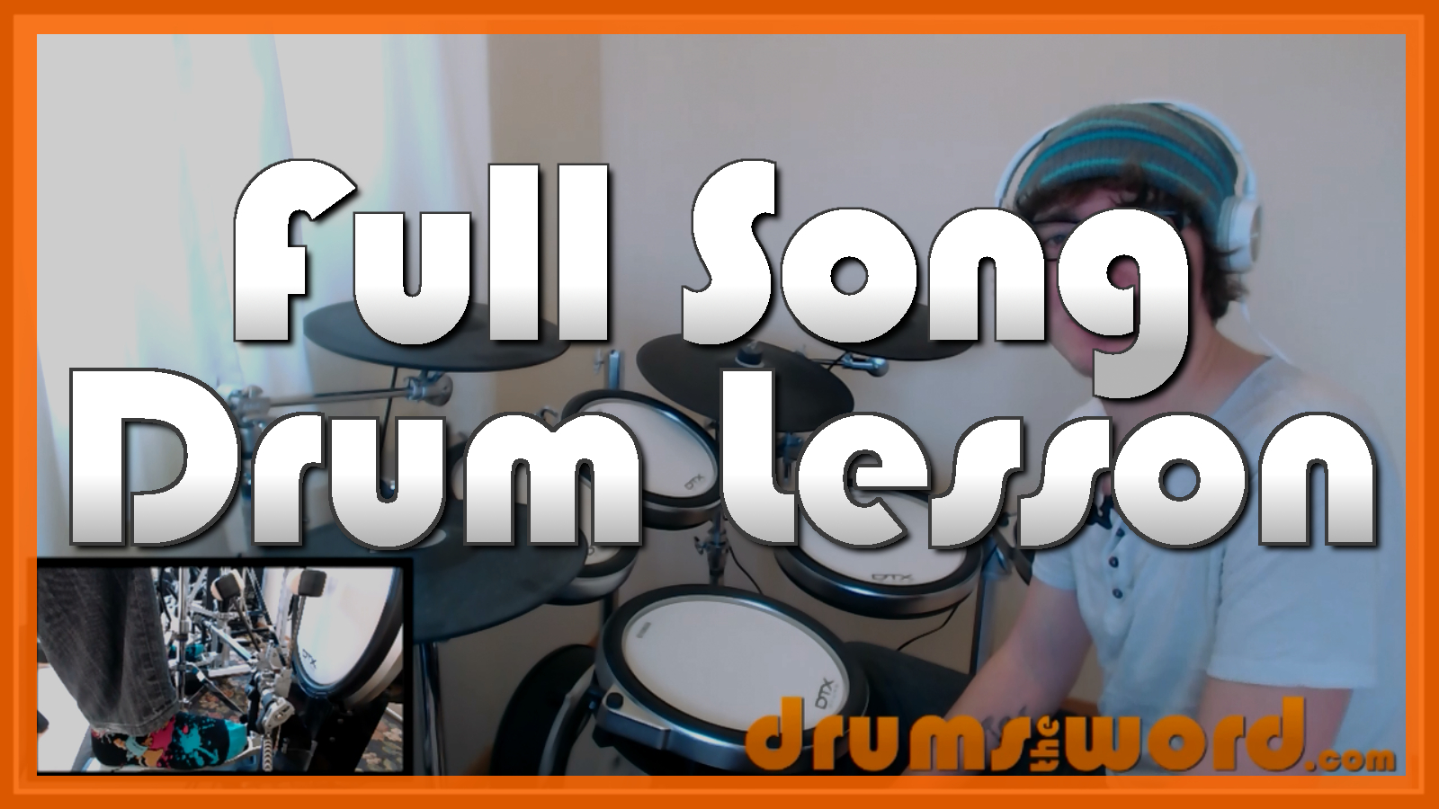 """""""Misery Business"""" - (Paramore) Full-Song Video Drum Lesson Notation Chart Transcription Sheet Music Drum Lesson"""