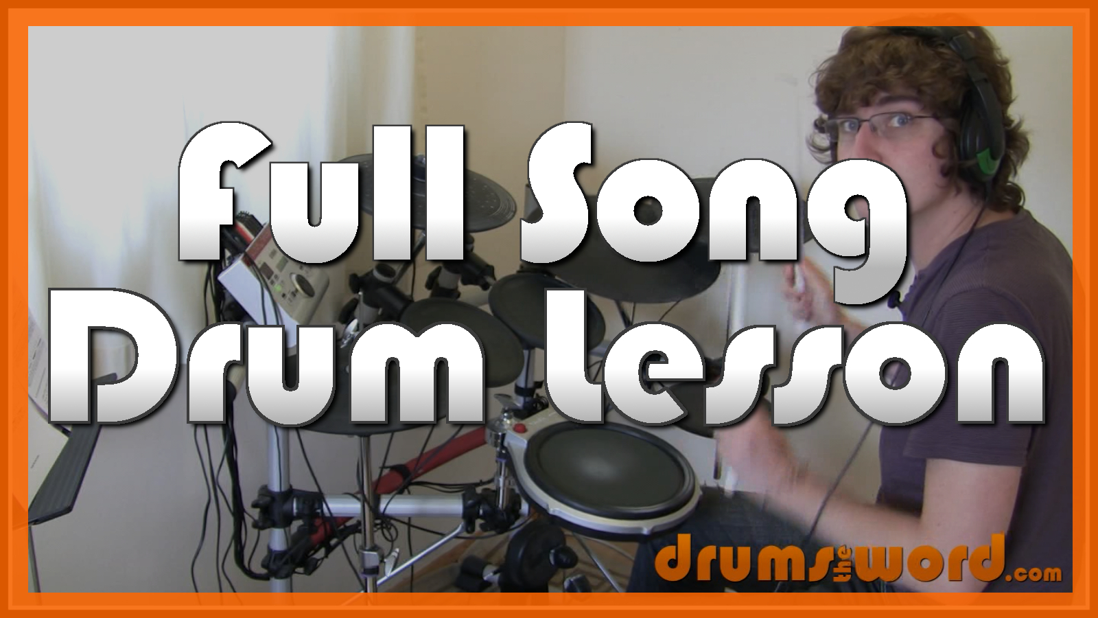 """Nothing Else Matters"" - (Metallica) Full-Song Video Drum Lesson Notation Chart Transcription Sheet Music Drum Lesson"