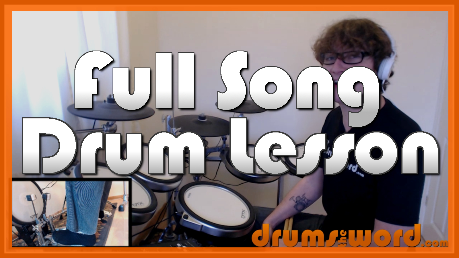 """""""Stairway To Heaven"""" - (Led Zeppelin) Full-Song Video Drum Lesson Notation Chart Transcription Sheet Music Drum Lesson"""