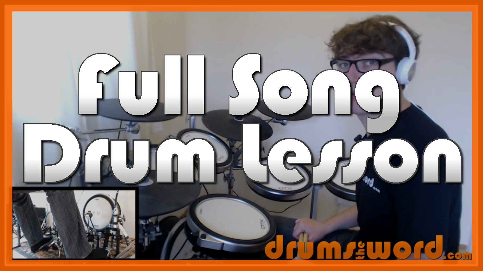"""Would?"" - (Alice In Chains) Full-Song Video Drum Lesson Notation Chart Transcription Sheet Music Drum Lesson"