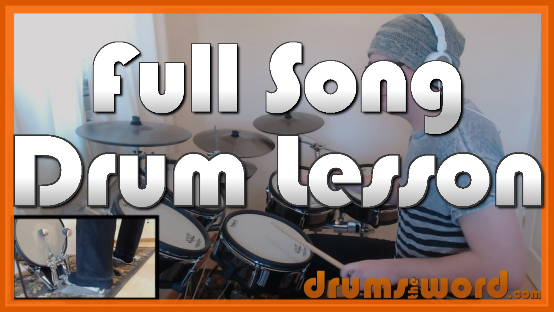 """""""Gimme All Your Lovin'"""" - (ZZ Top) Full-Song Video Drum Lesson Notation Chart Transcription Sheet Music Drum Lesson"""