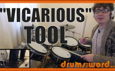"""""""Vicarious"""" (Tool) FILL – Free Video Drum Lesson"""