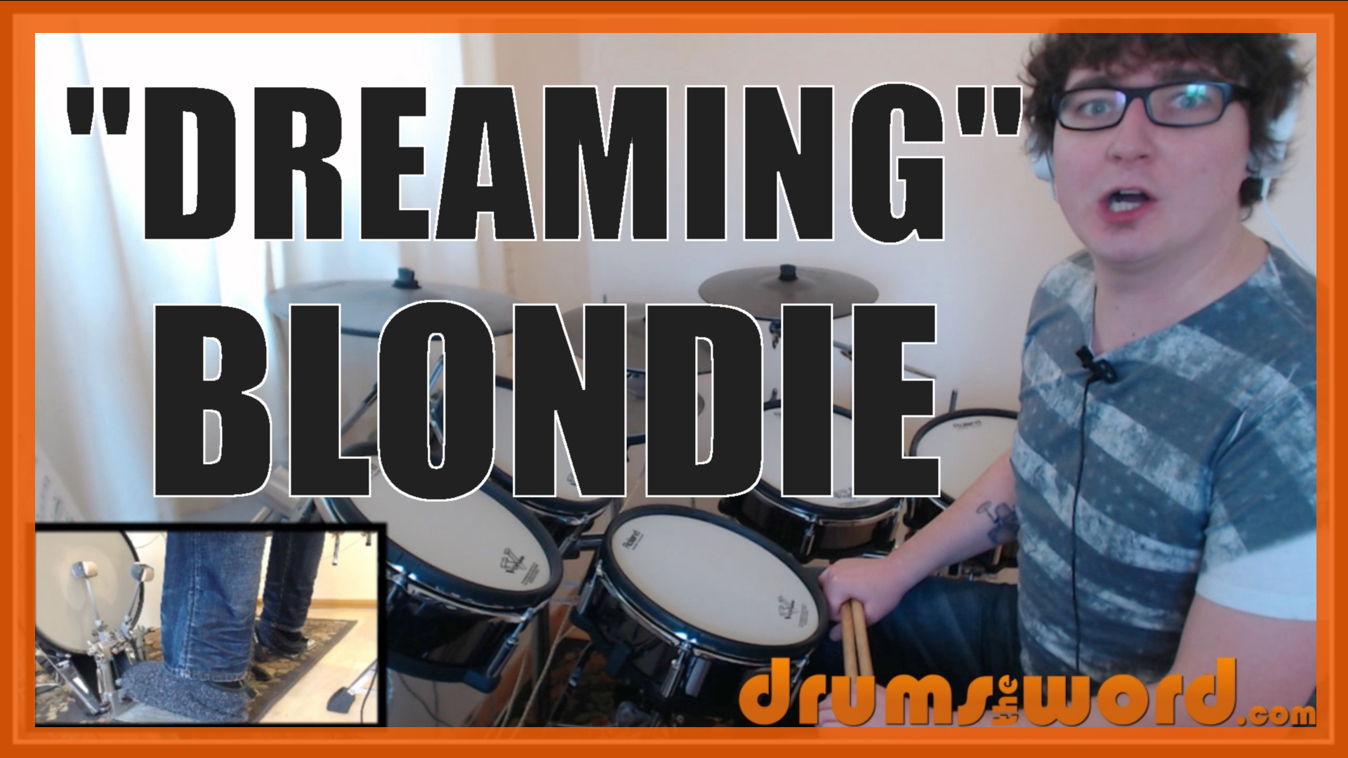 """Dreaming"" - (Blondie) Full-Song Video Drum Lesson Notation Chart Transcription Sheet Music Drum Lesson"