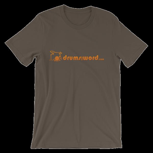 DrumsTheWord.com Logo T-shirt