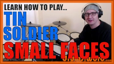 """""""Tin Soldier"""" - (Small Faces) Full-Song Video Drum Lesson Notation Chart Transcription Sheet Music Drum Lesson"""