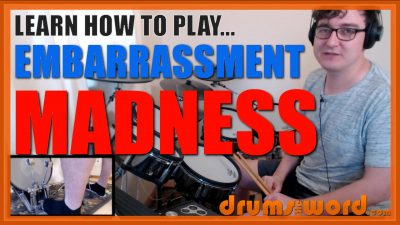 """""""Embarrassment"""" - (Madness) Full-Song Video Drum Lesson Notation Chart Transcription Sheet Music Drum Lesson"""